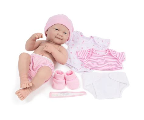 Jc Toys La Newborn Set Doll