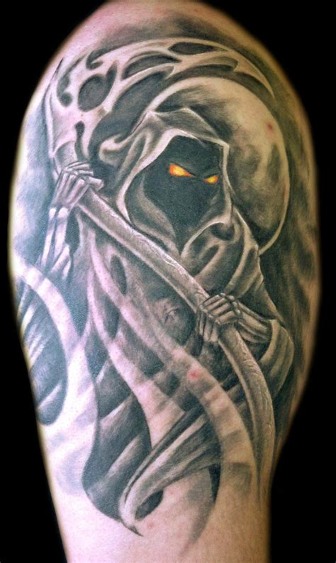 flash reaper bicep tattoo creativefan