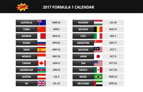 Календарь Формулы 1 2018 - расписание Гран При, даты, Время проведения Гран При