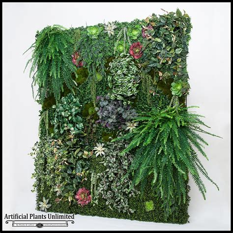 Pflanzen An Wand by Green Wall Artificial Arrangement Artificial Plants Unlimited