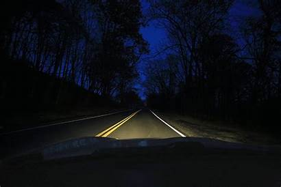 Headlights Night Driving Lighting Road Should Geico