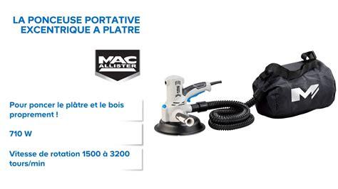 Ponceuse Platre Castorama Ponceuse Excentrique 224 Pl 226 Tre Mac Allister 681940 Castorama