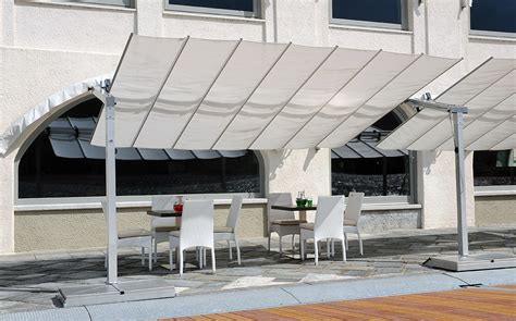 Large Fim Cantilever Patio Umbrella by Umbrella Flex 10 X 16 Offset