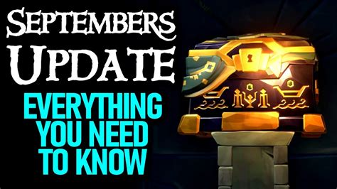 SEPTEMBERS UPDATE INCOMING // SEA OF THIEVES - Everything ...