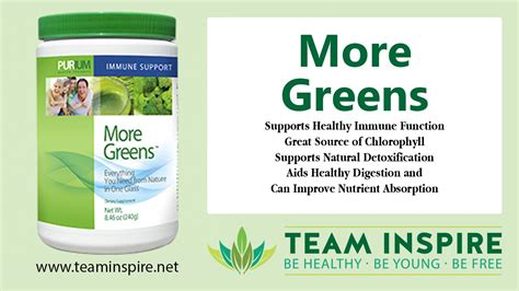 Product Video - More Greens Purium Health Products ...