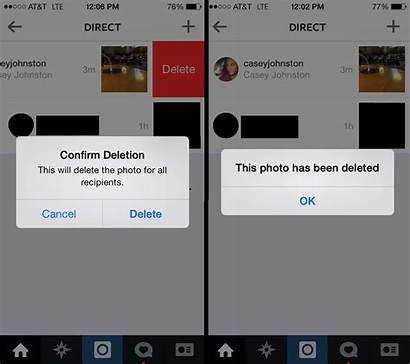 Delete Instagram Messages Message Deleted Box Direct
