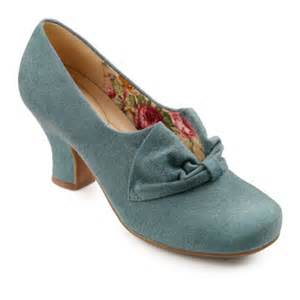 womens boots vintage style 1940s shoes wedge slingback oxford peep toe