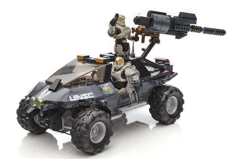 Halo Mega Bloks 2016 Dual Mode Unsc Warthog Set Photos