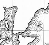 Leech Lake Coloring Clipart Map Depth Designlooter 366px 01kb Drawings sketch template