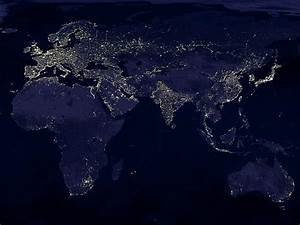 The earth at night, from space | Matthew's Island of ...