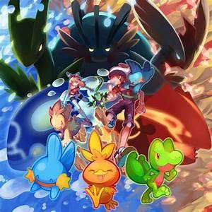 Hoenn Starters and Mega Evolutions! | Pokémon | Pinterest ...
