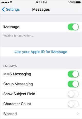 iphone not receiving messages 8 ways to fix iphone not sending or receiving text
