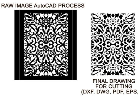 Convert Drawing To Dxf File For Laser Cutting In 24 Hours