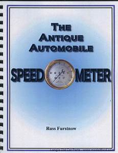Model T The Antique Automobile Speedometer Book  Taas