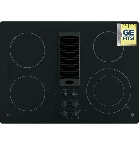 ge profile series  downdraft electric cooktop