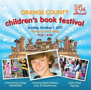 Orange County Children's Book Festival | Plan A Day Out ...
