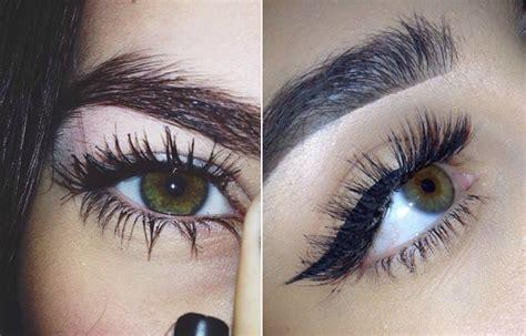 mascara    natural  eyelashes girlfriend