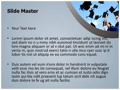 high school graduation powerpoint template background