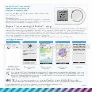 Lux Geo Thermostat Quick Start Guide