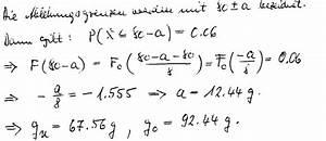 Sigma Berechnen : normalverteilung normalverteilung grenzen berechnen gewicht von baukl tzen ist ann hernd ~ Themetempest.com Abrechnung