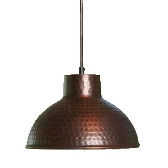 pendant lighting ideas awesome hammered copper pendant