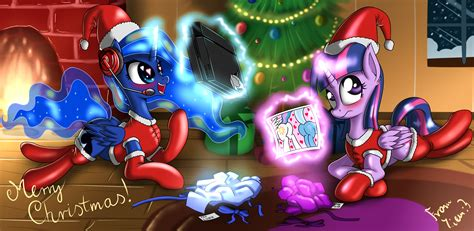 merry pony christmas   pony friendship