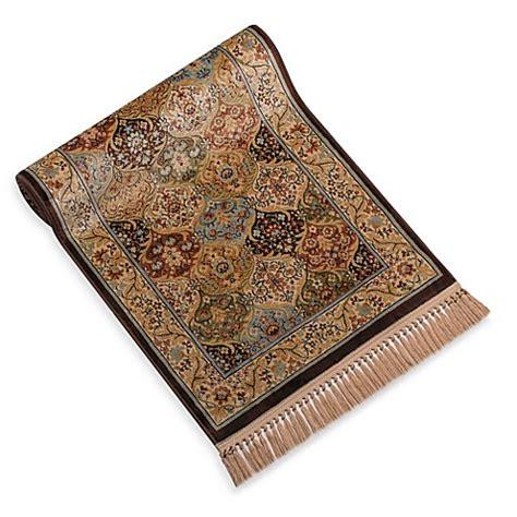 verona chocolate panel floor rug bed bath