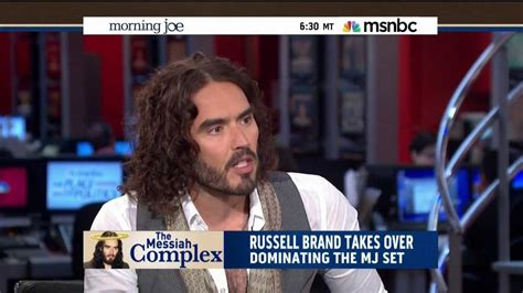 russell brand msnbc russell brand shows msnbc hd how a guest should be