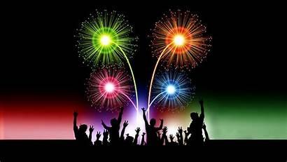 Fireworks Happy Desktop Animated Wallpapers Mobile Celebration