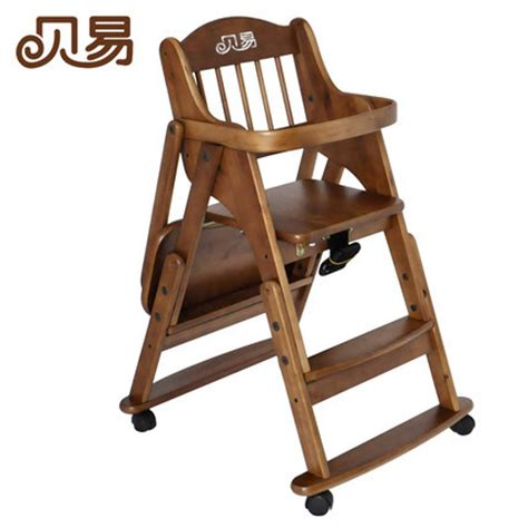 0 10 years solid wood folding baby high chair for feeding