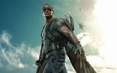 Soldier Winter Captain America Falcon Wallpapers Movies