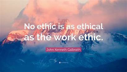 Ethic Ethical Galbraith Kenneth John Eaten Rice
