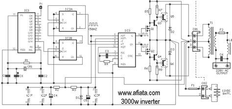 Converter Inverter Circuits Electronic Circuit Diagram
