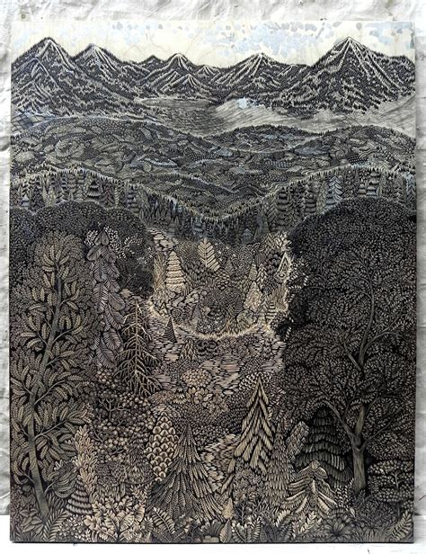 Overlook: A New Woodcut Print from Tugboat Printshop ...