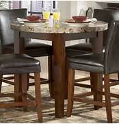Homelegance Achillea Round Counter Height Dining Table Marble Top 721M Round Marble Top Saarinen Dining Table At 1stdibs Florence Knoll Round Marble Top Dining Table At 1stdibs Round Dining Table With Black Faux Marble Top Dining Tables AF 70780