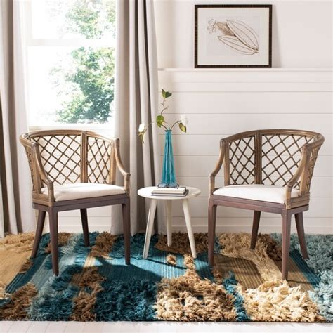 Safavieh Furniture Sale by Shop Safavieh Country Classic Dining Carlotta Griege Arm