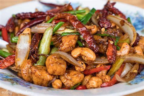 thai chicken recipes how to make thai cashew chicken