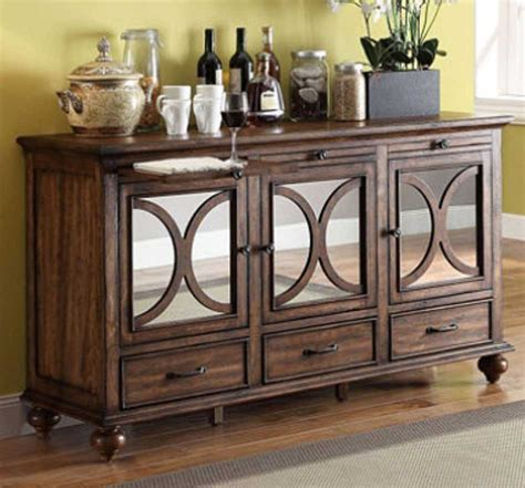 storage console cabinet living room console cabinets with drawers with glass doors