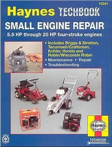 Small Engine Repair   5 5 Hp Thru 20 Hp Four Stroke