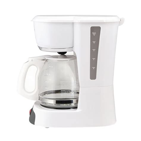 Common repairs to coffee makers include servicing the on/off switch, thermostat, heating element, and warming element. Sunbeam ® 12-Cup Switch Coffeemaker, White
