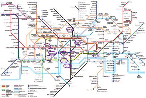 Las Paradas De Metro Más Importantes En Londres
