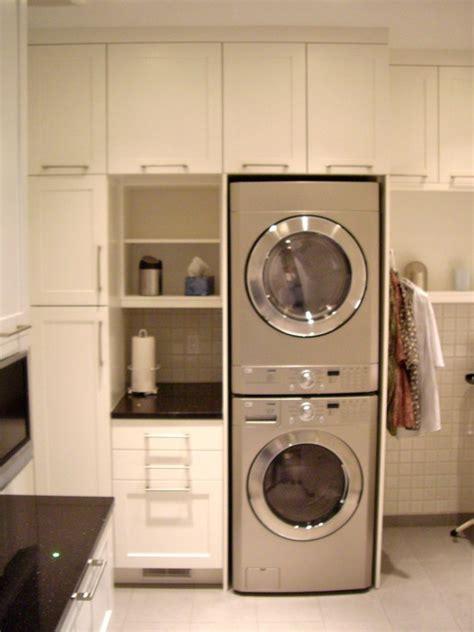 stacking washing machine  dryer laundryscullery