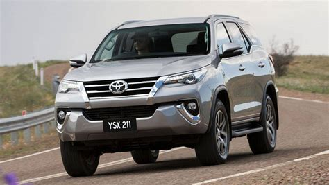 toyota fortuner review  drive carsguide