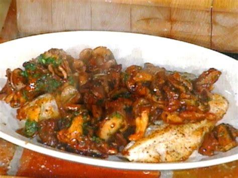 grouper baked mushrooms wild forno al funghi con recipes recipe food cook batali mario web