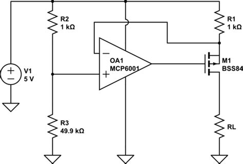 Limiting Current Without Dropping Voltage Electrical