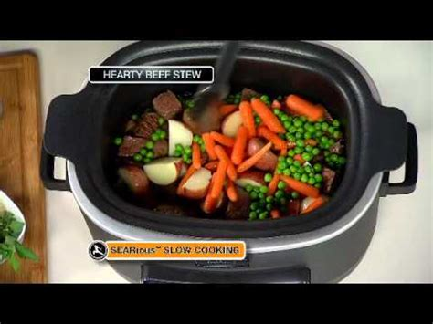ninja cooking system hearty beef stew recipe youtube