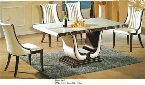 luxury italian style furniture marble dining table 0442