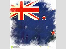 Flag of new zealand stock illustration Image of deep