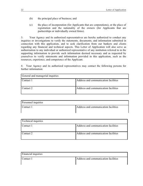 business qualification letter