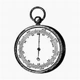 Barometer Aneroid Rawpixel Engraving Hvac Gauge Icons Pack Watermark Gemerkt sketch template